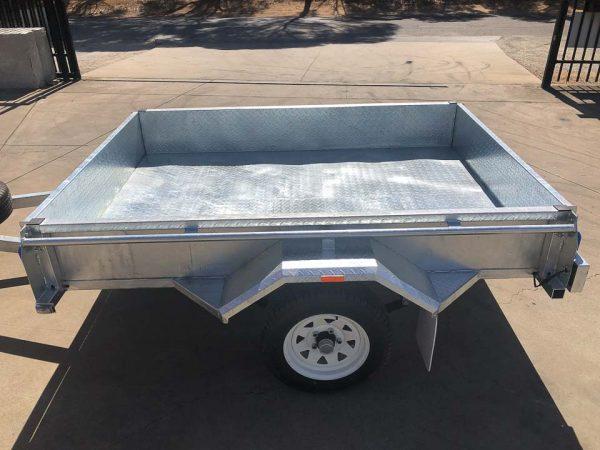 7x5 galvanised trailer