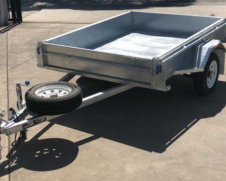 8x5 galvanised trailer