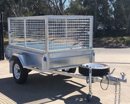 galvanised-premium-1400kg-cage-trailer