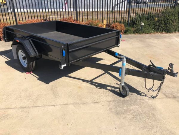 rolled-body-single-axle-mechanical brakes-1400kg