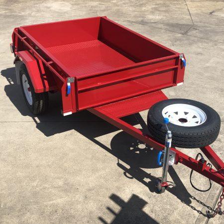 AU Single Axle trailers